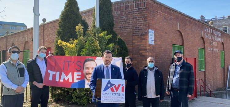 Cyperstein Calls on City of New York: Bring 3-K For All Childhood Services To District 29